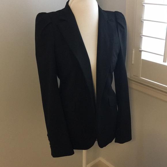 7f2a8ab9 Zara Jackets & Coats   Black Puff Sleeve Blazer   Poshmark